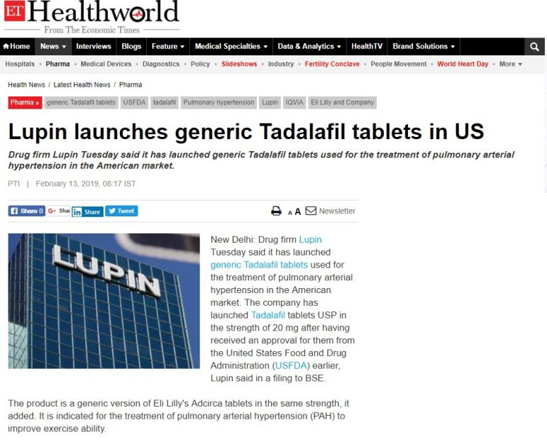 Lupin-launches-generic-Tadalafil-erectile-dysfunction-prescription-tablets-in-US-771x630 Lupin launches generic Tadalafil (erectile dysfunction prescription tablets) in US Los Angeles California Online Pharmacy