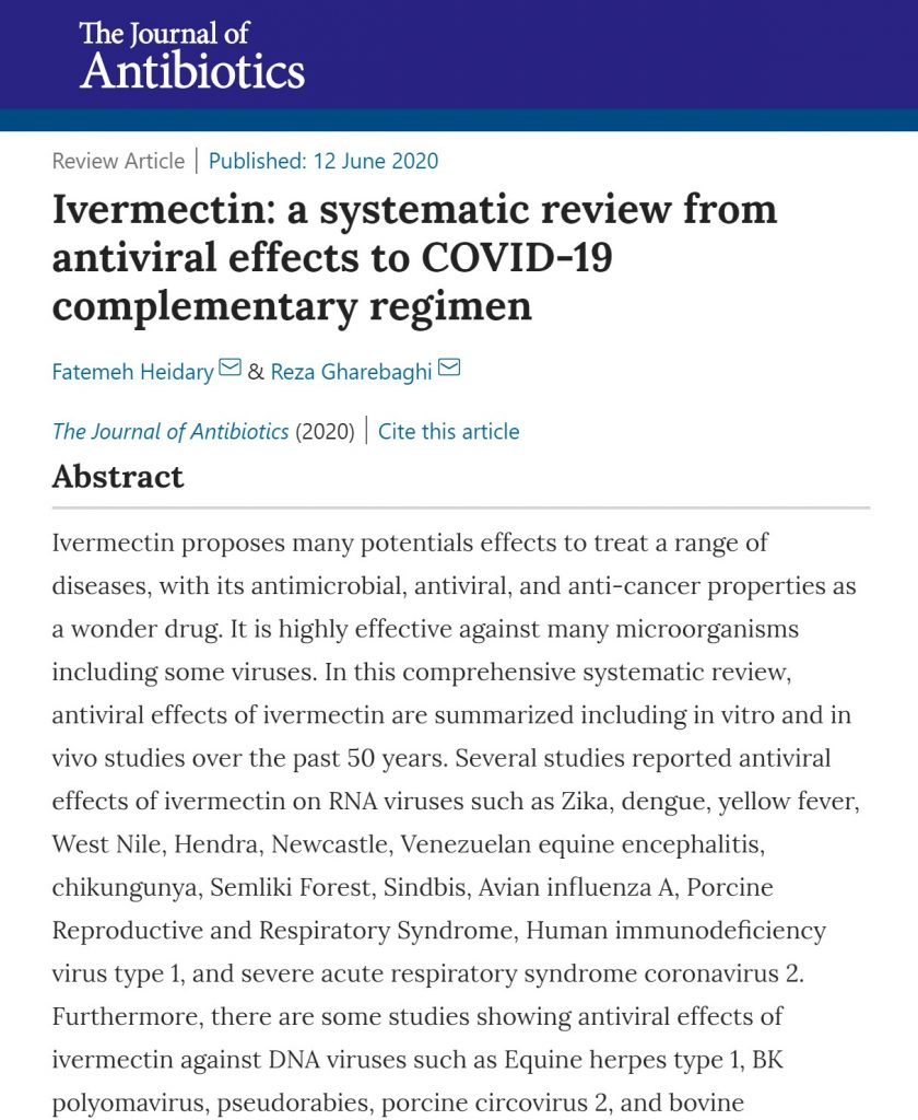 Could Ivermectin help fight COVID-19?